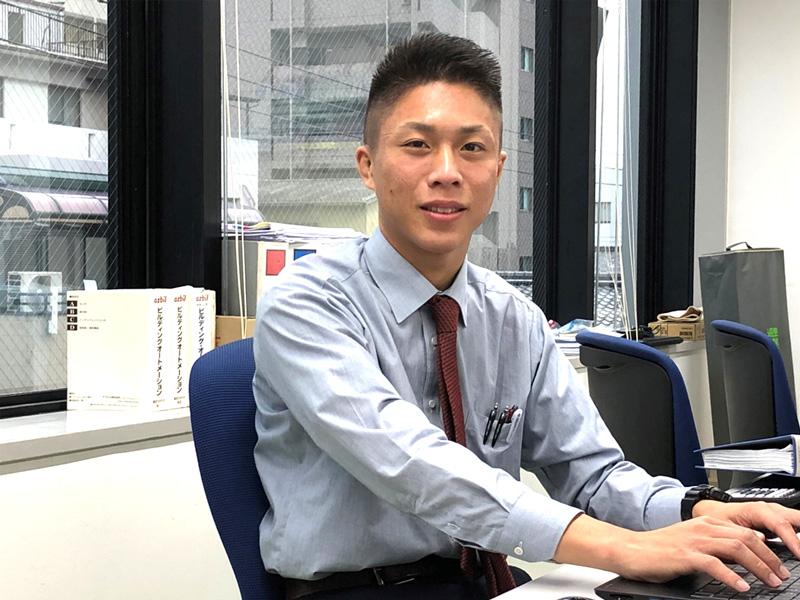 2019年入社(中途採用) 部署:技術部 / 林